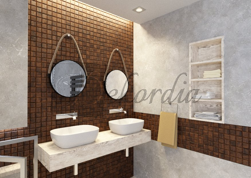 NATURAL WOOD PANELS CHOCO