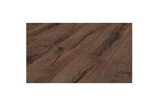 TER HURNE, COURAGE LINE, D09 OAK RUSTIC DARK BROWN PANEL PODŁOGOWY 128.5X24.2X.8