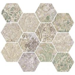 APARICI BOHEMIAN BLEND NATURAL HEXAGONAL MOZAIKA 28X30
