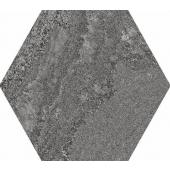 APE CERAMICA, SOFT ANTHRACITE HEXAGON GRES 23X26  z kolekcji SOFT