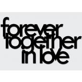 DEKOSIGN, FOREVER TOGETHER IN LOVE 77.5X45  z kolekcji DEKOSIGN