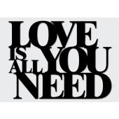 DEKOSIGN, LOVE IS ALL YOU NEED 59.5X45  z kolekcji DEKOSIGN