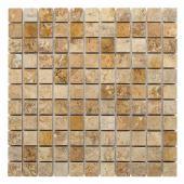DUNIN, TRAVERTINE CREAM 25 MOZAIKA KAMIENNA 30.5X30.5  z kolekcji TRAVERTINE EMPERADOR