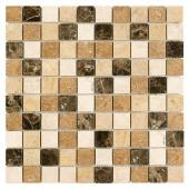 DUNIN, TRAVERTINE MIX 32 MOZAIKA KAMIENNA 30.5X30.5  z kolekcji TRAVERTINE EMPERADOR