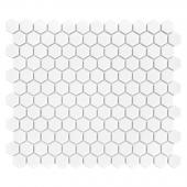 DUNIN, MINI HEXAGON WHITE MOZAIKA 26X30  z kolekcji HEXAGONIC