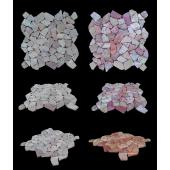 LUX4HOME RED STONE MARBLE MOZAIKA 30X30