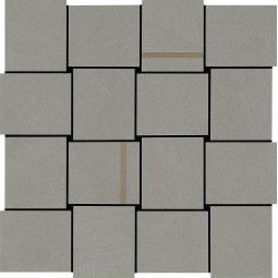 MARAZZI APPAREL LIGHT GREY M35A MOZAIKA INTRECCIO 30X30